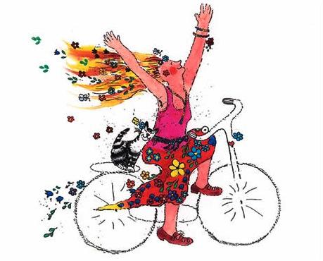 Cykellycka av Barbro Andrén