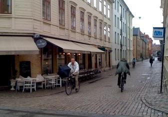 Det finns kaféer i varje hörn - här är det första
