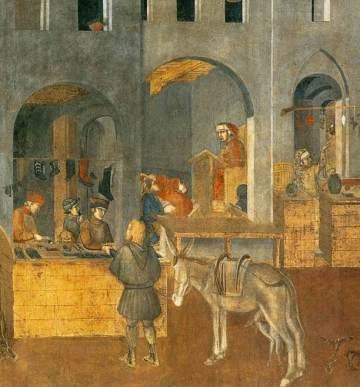 Siena Det goda styret 1 Ambrogio di Lorenzo
